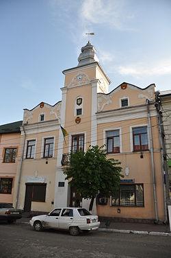 Sudova Vyshnia Town Hall.JPG