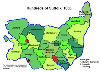 Hartismere Hundred - Suffolk hundreds