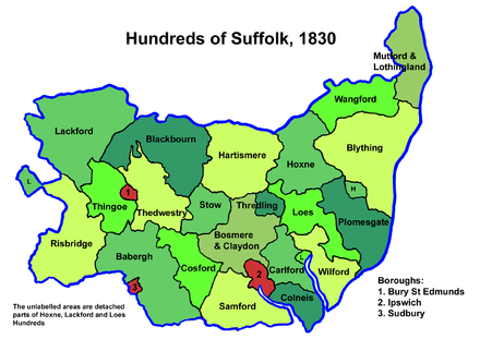 Suffolk hundreds