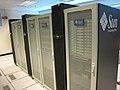 Sun Microsystems Solaris computer cluster.jpg