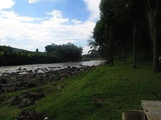 Progo River - Progo River in the area of Taman Kyai Langgeng, Central Jawa.