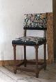 Svarvad stol med flamskväv, 1660 cirka - Skoklosters slott - 103965.tif