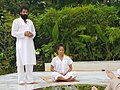 Swami Amit Dev with Actress Halle Berry.jpg