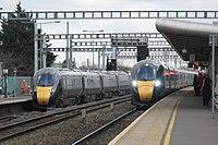 Swindon - GWR 800005 and 800030.JPG