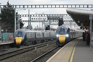 Swindon - GWR 800005 and 800030.JPG