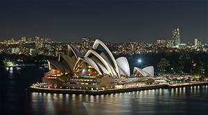 New South Wales - The Sydney Opera House was completed in 1973 and has become a World Heritage Site.
