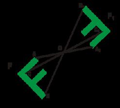 Как сделать центральная симметрия 197