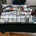 System Y modular synthesizer (or electronic gadgets), by Yonemoto Electroacoustic Laboratory, Shinjuku Synthesizer Festival 2012.jpg