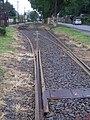 Szeged 3-as villamos Belvárosi temető külváros felőli kitérő 2010-09-06.JPG