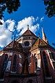 Szilágyi Square's Reformed Church, Hungary - Budapest (28210051350).jpg