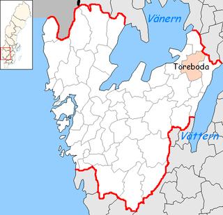Töreboda Municipality Municipality in Västra Götaland County, Sweden