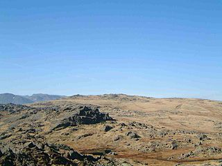 Thunacar Knott mountain in United Kingdom