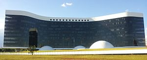 Superior Electoral Court - TSE building in Brasília.