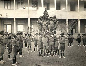 Liga dos Escuteiros de Moçambique - Scout games in Beira, 1930