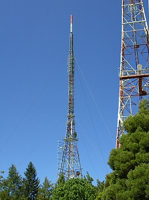 Mount Dandenong (Victoria) - Transmission towers
