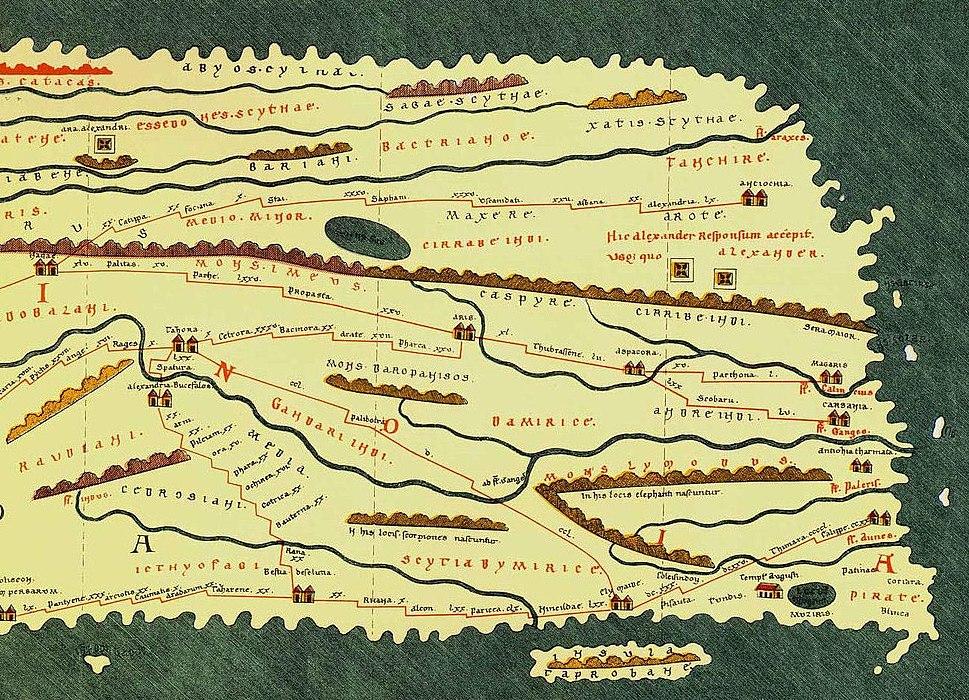 TabulaPeutingerianaIndo-Scythia