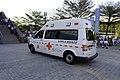 Taipei City Fire Department Quanzhou-92 ambulance during Comic World Taiwan 42.jpg