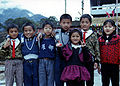 Young residents in the Bunun village of Lona, Taiwan