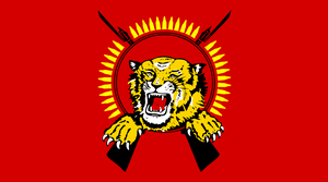 W85 heavy machine gun - Image: Tamil Tiger flag