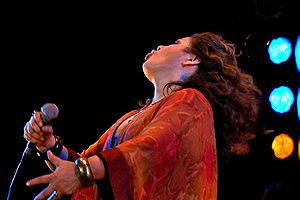 Tania Libertad - Tania Libertad in concert at the Feria Internacional de Libro in Guadalajara in November 2005