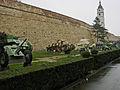 Tanks and guns outside the Belgrade Military Museum.jpg