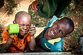 Tanzanian children loving one another by Rasheedhrasheed.jpg