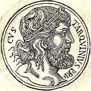 Lucius Tarquinius Priscus fifth King of Rome