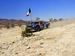 Gus Vildósola - Vildosola Racing SCORE Trophy Truck during the 2011 CODE Off Road Mexicana Logistics 300
