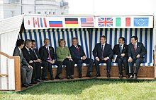 The EU / EC has been represented as a participant with observer status at the G8 meetings since 1977.
