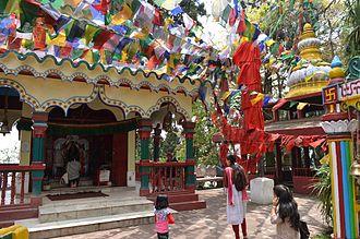 Observatory Hill, Darjeeling - File:Temple, Observatory Hill, Darjeeling.