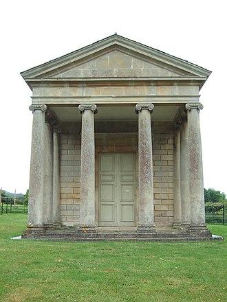 Temple of Harmony - Image: Temple of Harmony, Goathurst, Somerset, UK (southeast facade)