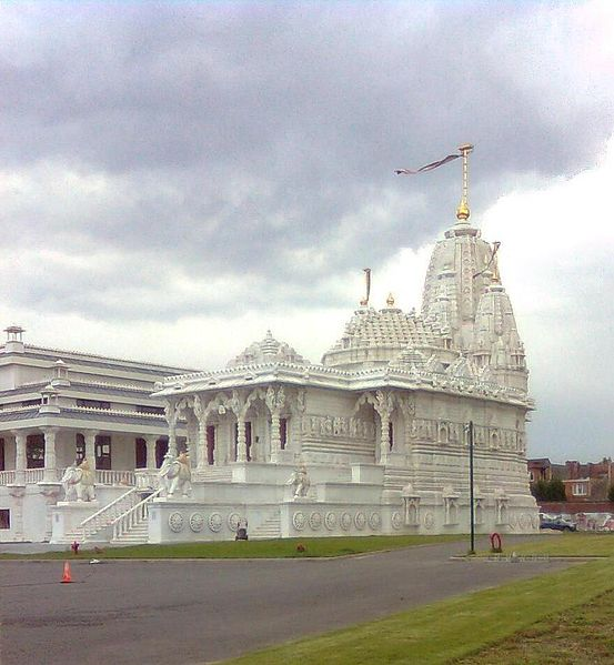 Jain temple in Antwerp, Belgium