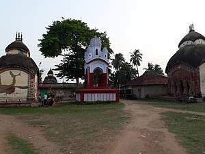 Antpur - Temples and Dolmancha at Antpur village, Hooghly
