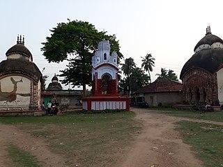 Antpur Village in West Bengal, India