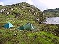 Tents, Loch Enoch - geograph.org.uk - 462760.jpg