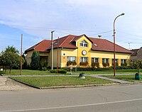 Terezín (Moravia), municipal office.jpg