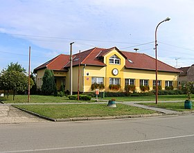 Terezín (Moravia), municipal office.jpg