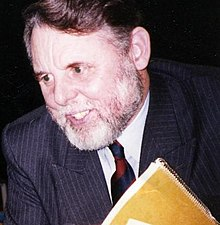 Terry Waite at April 1993 Allentown College speech