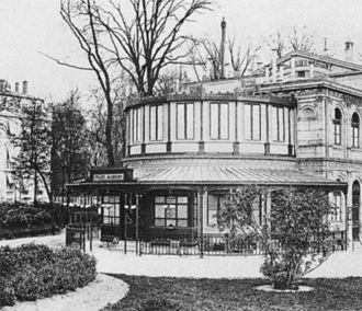 Théâtre des Folies-Marigny - The Théâtre des Folies-Marigny, sometime before its demolition in 1881