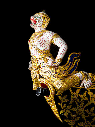 National Museum of Royal Barges - Figurehead on one of the Royal Barges