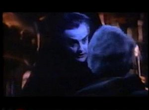 The Legend of the 7 Golden Vampires - John Forbes-Robertson as Dracula in the film