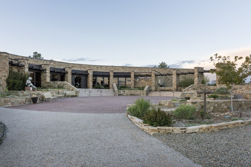 The Anasazi Heritage Center, a museum of the Ancestral Puebloan (or Anasazi) Culture and other Native cultures in the Four Corners region near Dolores in Montezuma County, Colorado LCCN2015632652