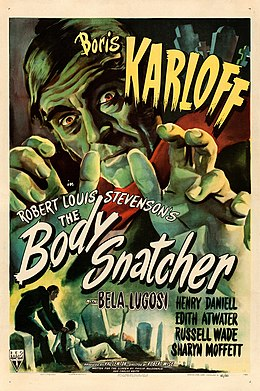 The Body Snatcher (1945 poster).jpg