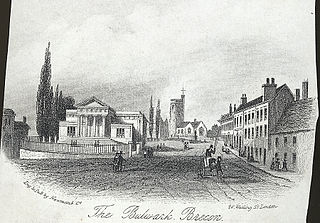 The Bulwark, Brecon
