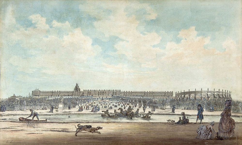 palace and gardens of versailles - image 2
