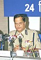 The Director General, Central Reserve Police Force Shri S.C. Chaube addressing a Press Conference on the eve of 64th CRPF Anniversary in New Delhi on December 24, 2003.jpg