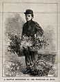 The Flower boy at Hull Hospitals, Hull, Yorkshire. Wood engr Wellcome V0012760.jpg