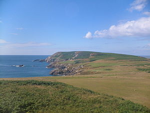 Saltee Islands - The Great Saltee, the larger of the two Islands.