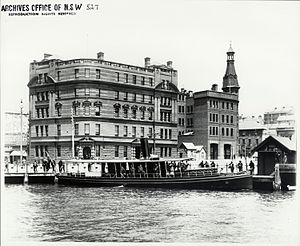Sydney Heritage Fleet - The Lady Hopetoun at Circular Quay c.1910