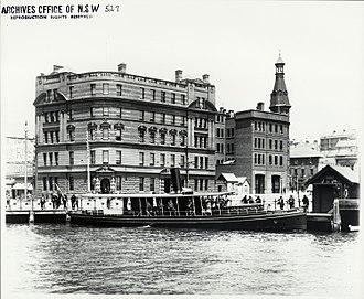 Sydney Heritage Fleet - The Lady Hopetoun at Circular Quay c.1910